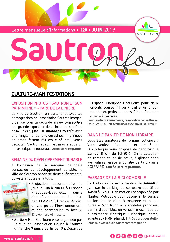 Sautron Infos Juin 2019