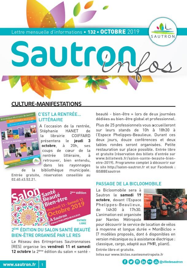 Sautron Infos Octobre 2019