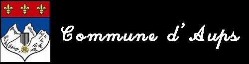 Commune d'Aups