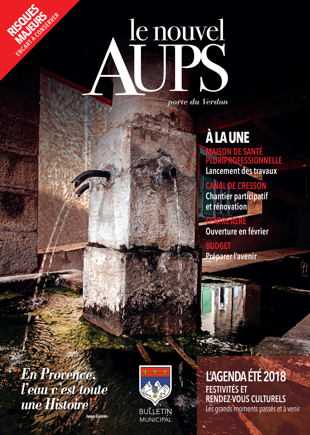 Journal municipal le Nouvel'Aups 2018