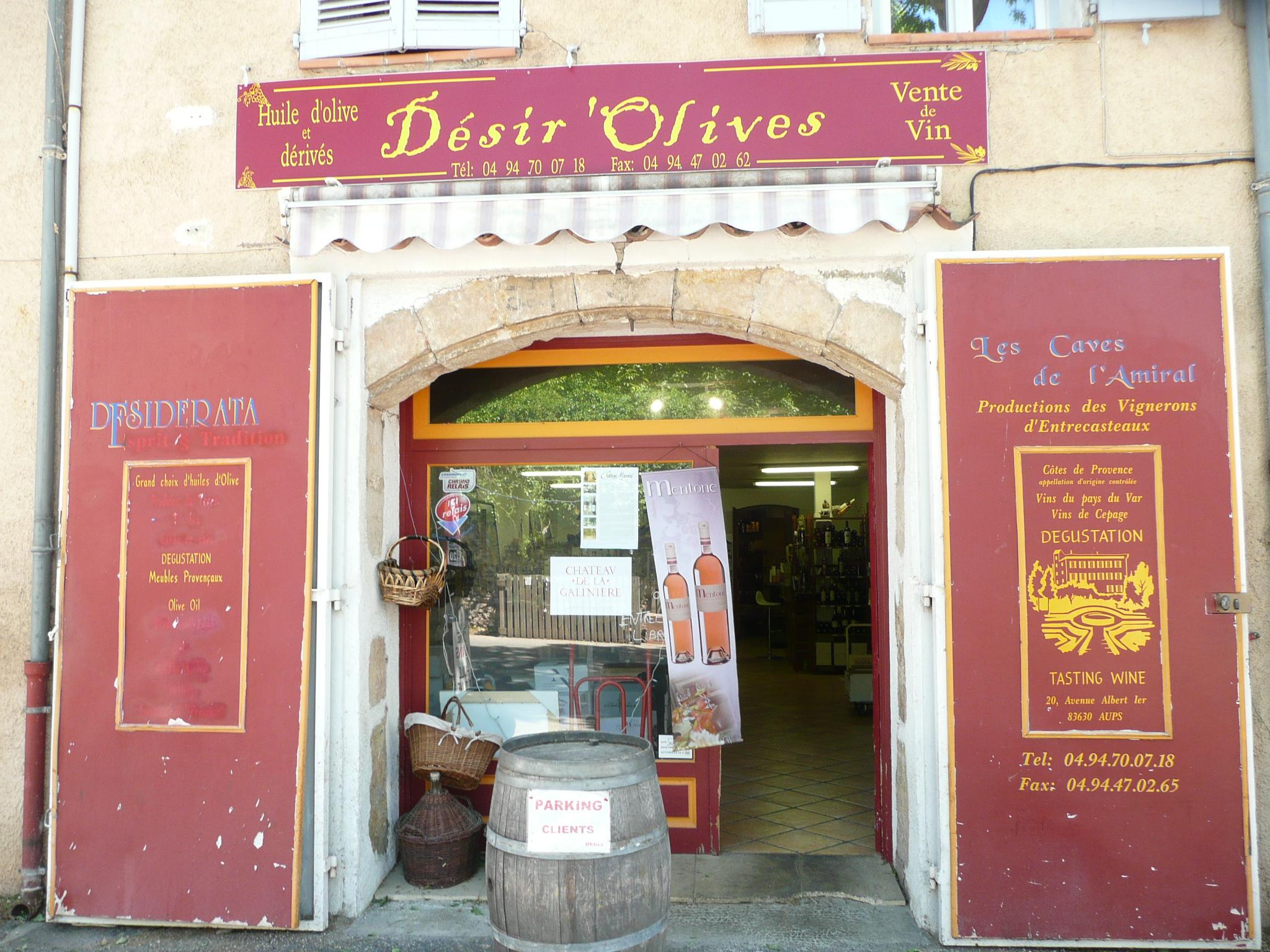 Désirs Olives