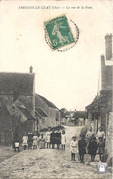 Carte ancienne Fresnoy rue de la poste.jpg