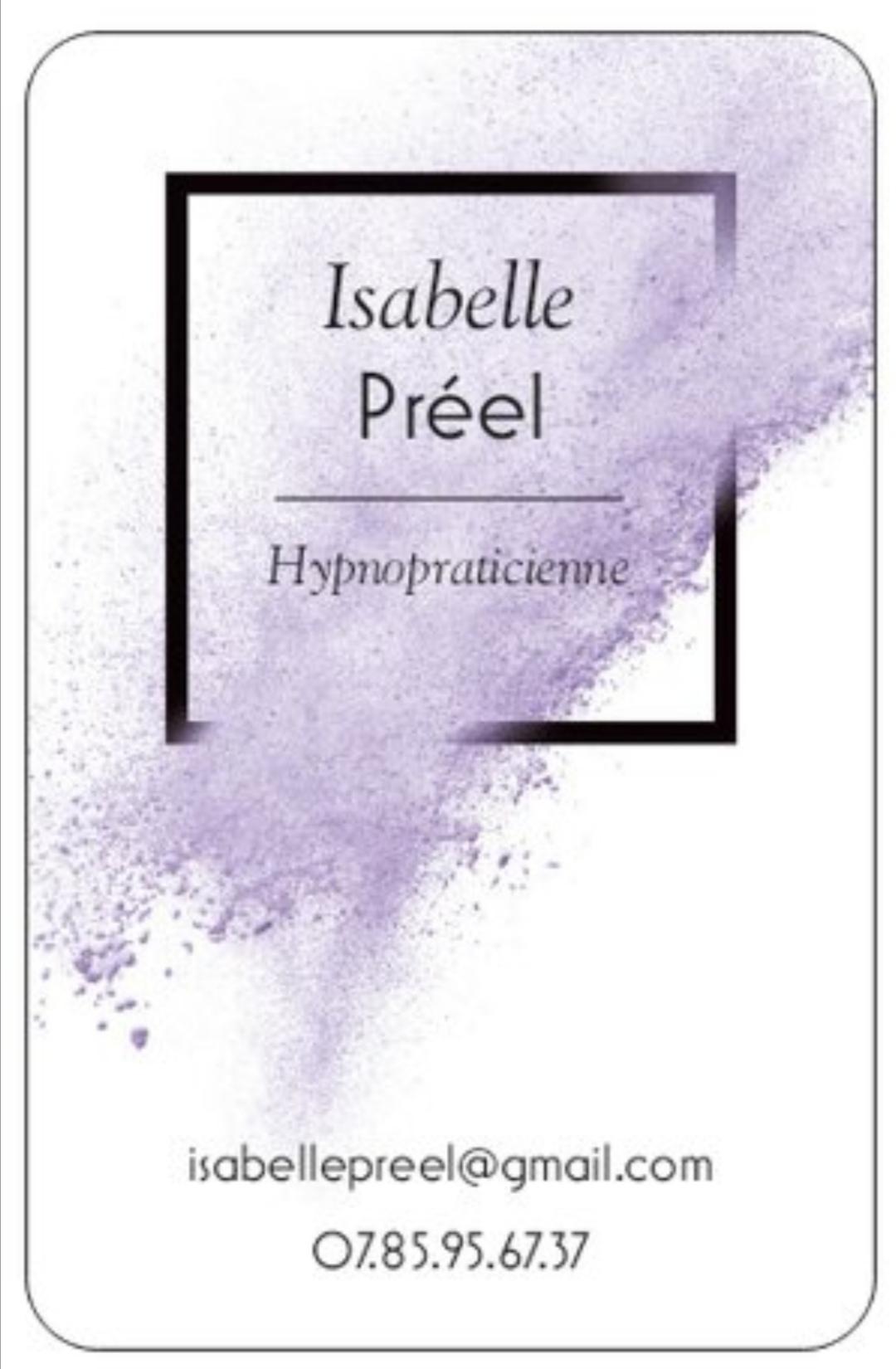 carte Isabelle PREEL
