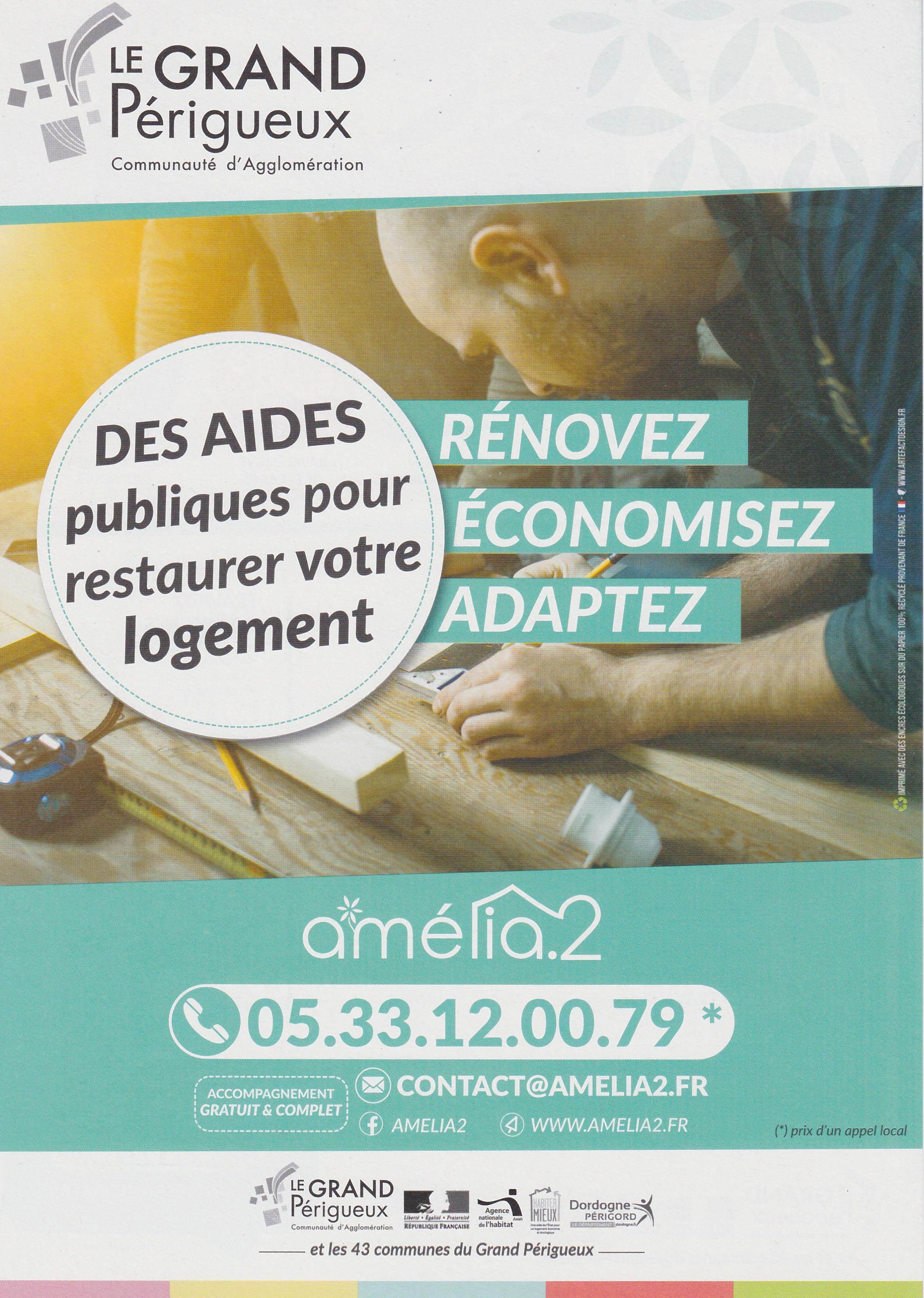 Amélia recto affiche