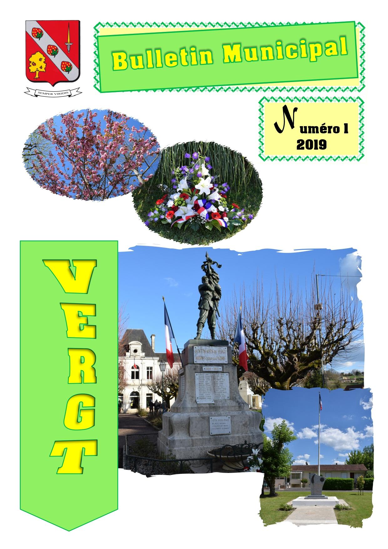 Bulletin Municipal N°1 2019