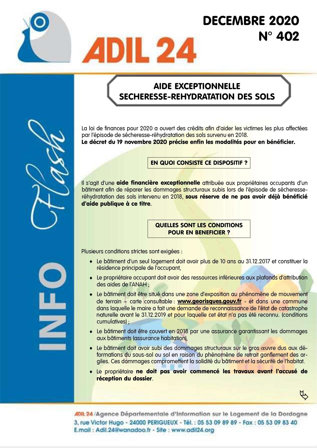 ADIL info flash dec 2020 Aide exceptionnelle sechersse rehydration des sols_page-0001.jpg