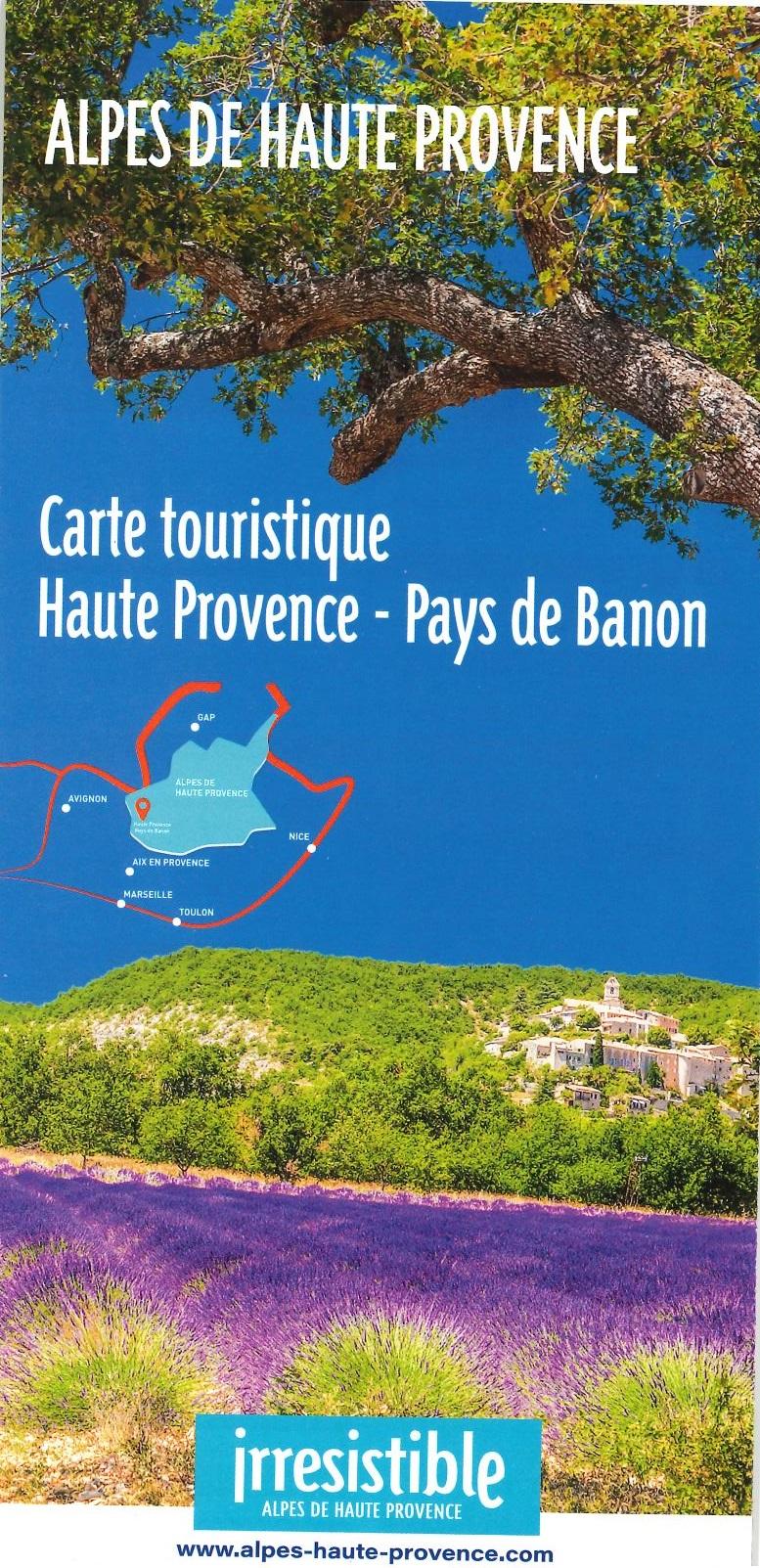 Carte touristique HPPB 2020 / recto