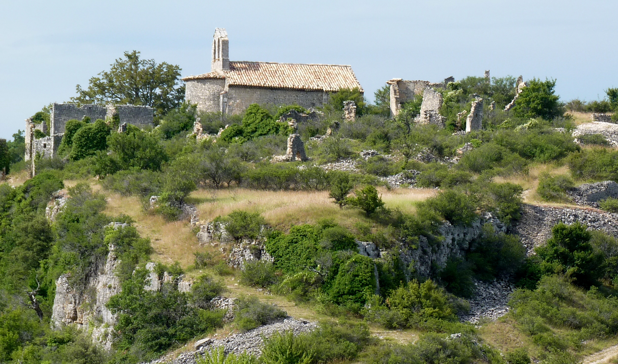 Vieux Montsalier©Evelyne Sagnes _2_.JPG