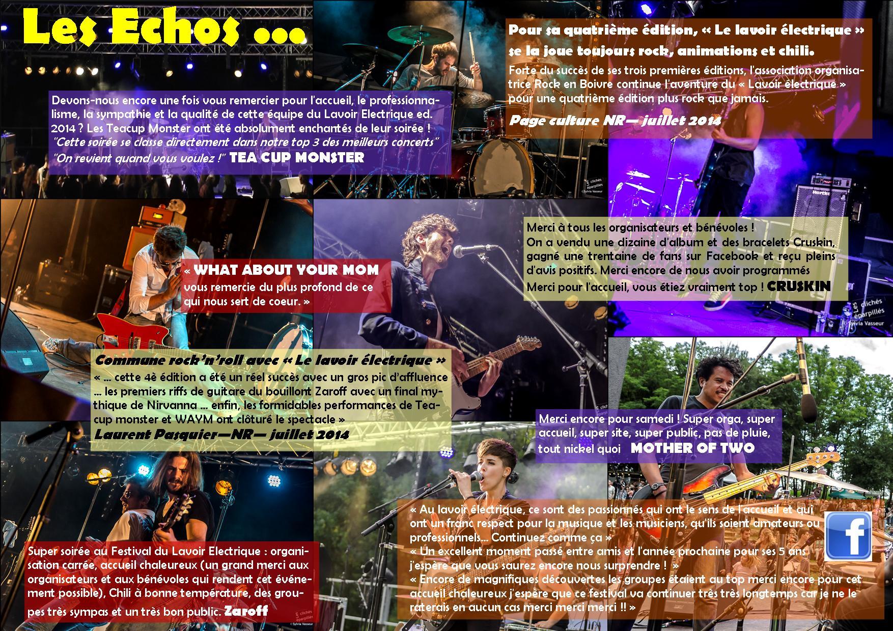 Echos 2014