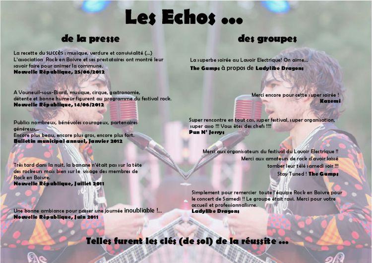 Echos 2012