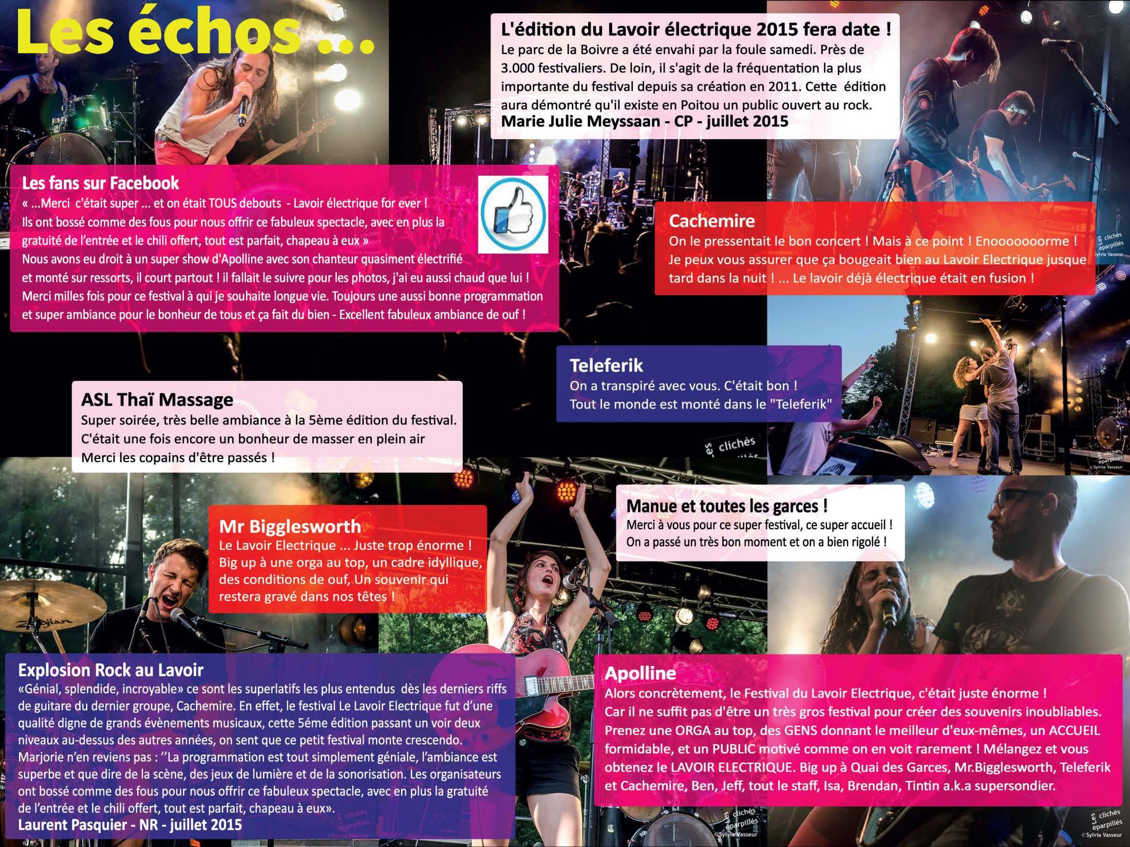 Echos 2015