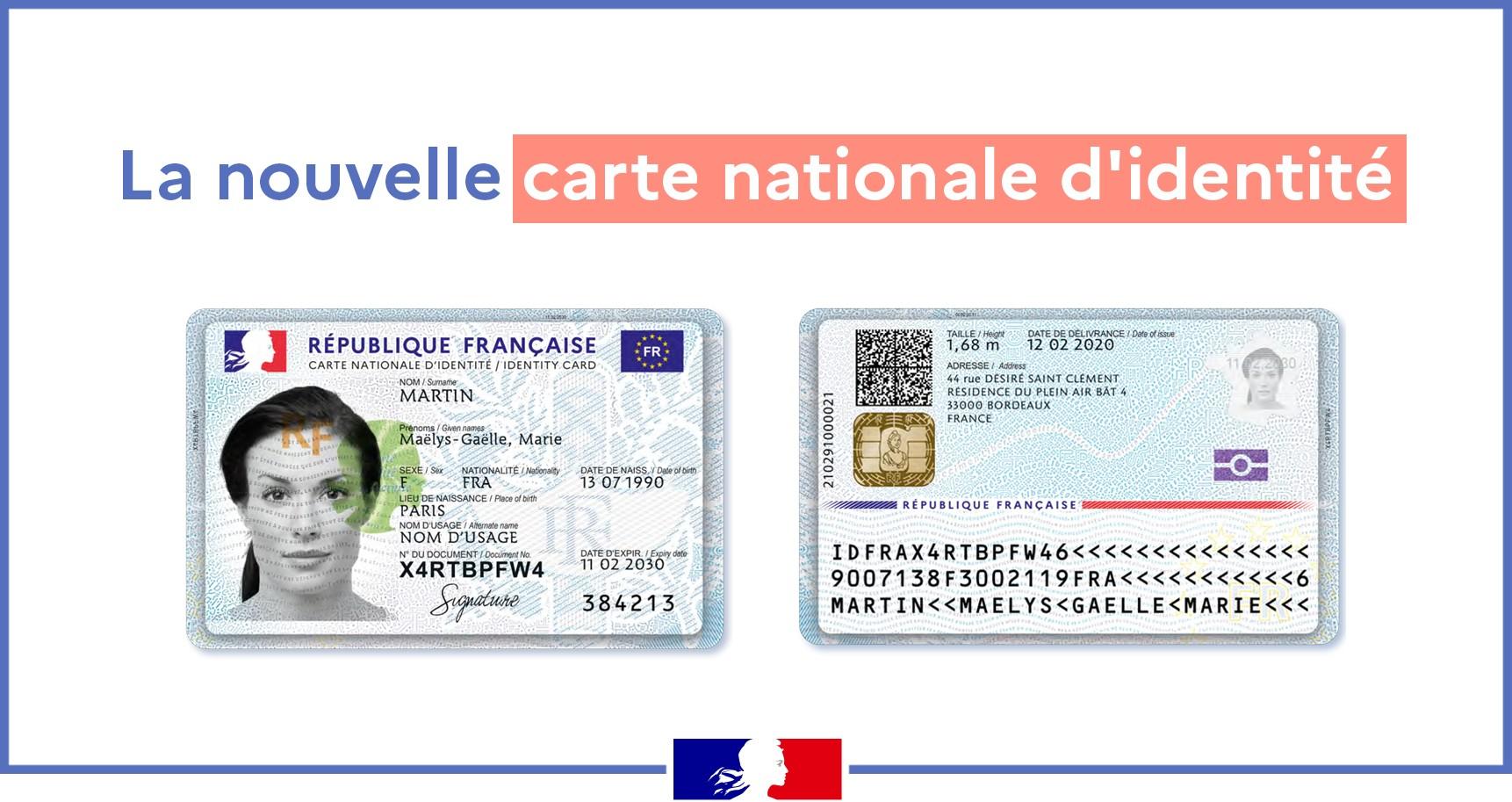 Carte identité (nouveau format) 12