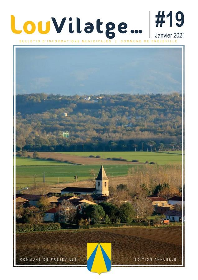 Lou vilatge... - N°19 (A4) - Janvier 2021