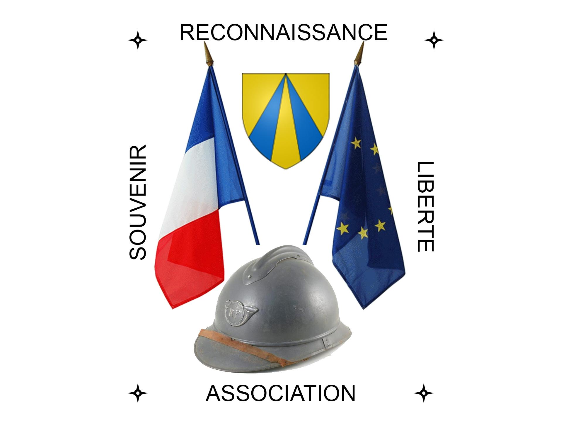 """Logo Association """"Souvenir, reconnaissance et liberté"""""""