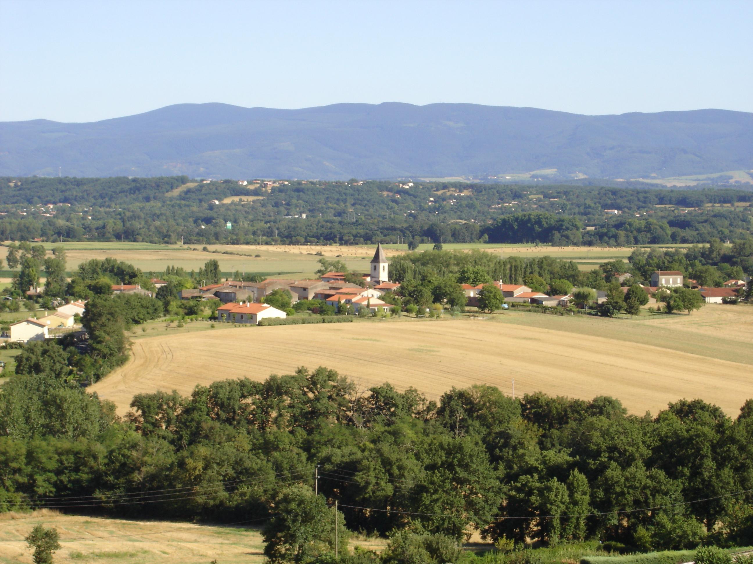 Fréjeville - Vue panoramique.JPG