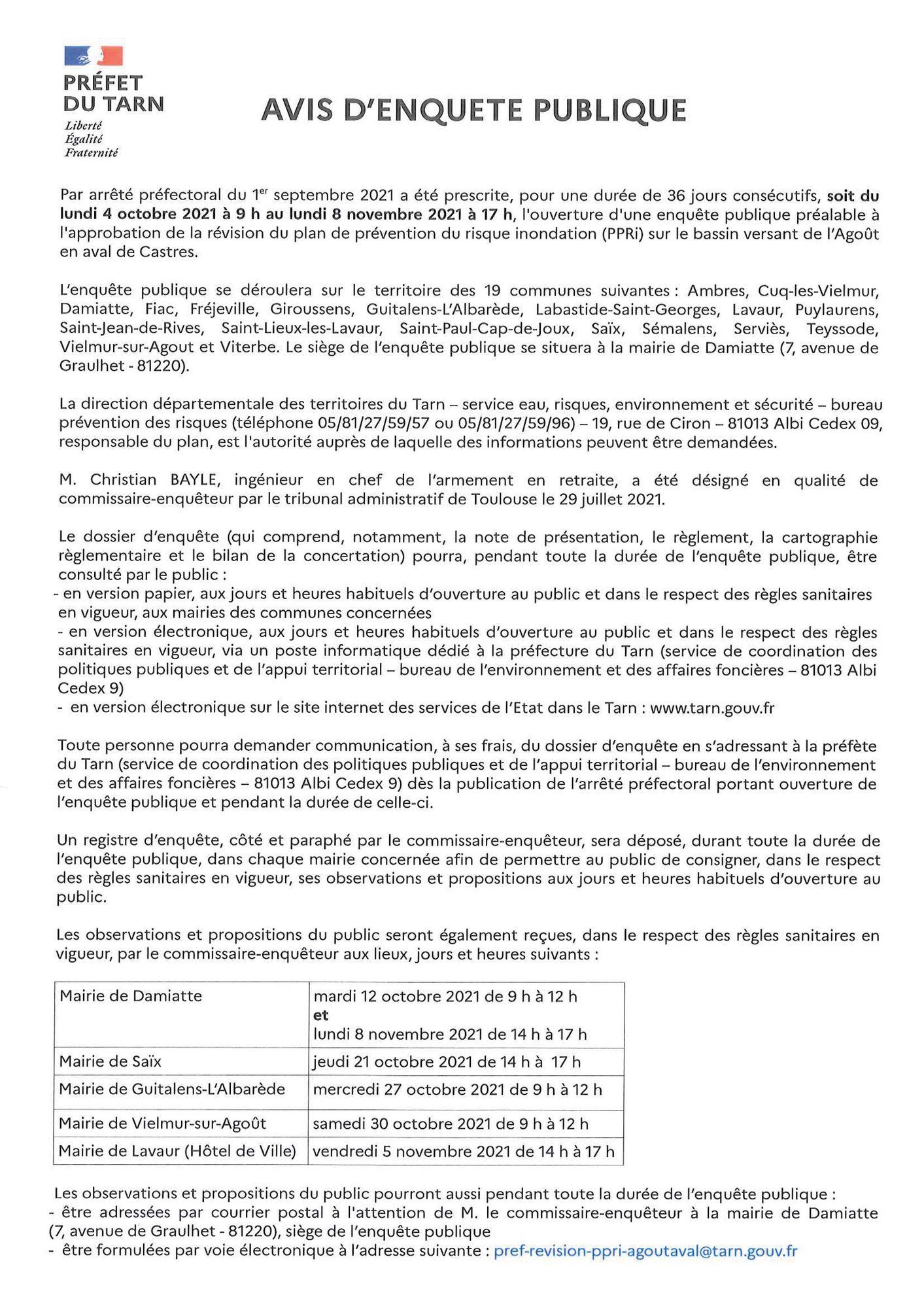 Avis d_enquête publique 2021 - Approbation de la révision du PPRi _1-2_.jpg