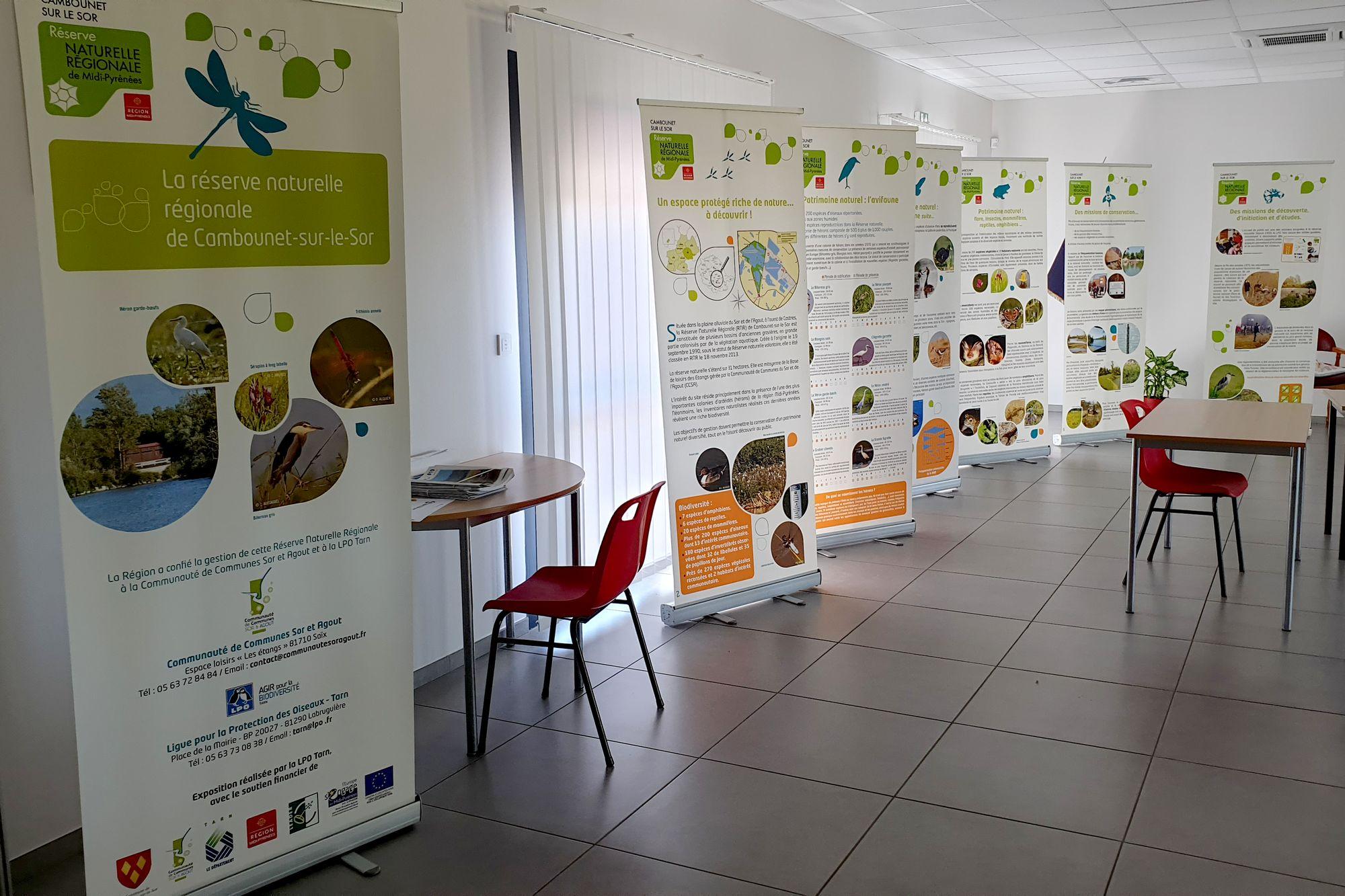 Exposition sur la Réserve Naturelle Régionale de Cambounet-sur-le-Sor 1.jpg