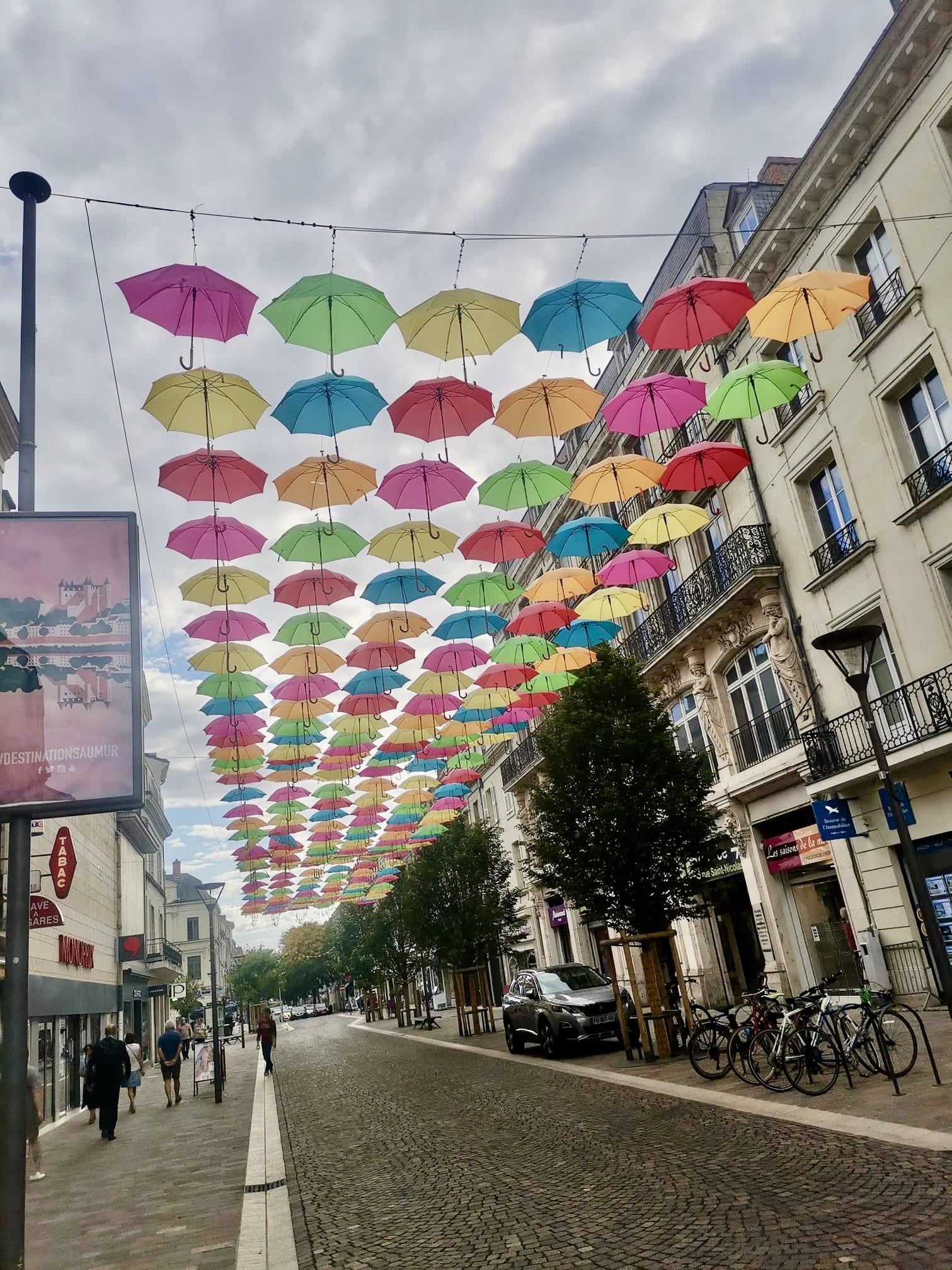 Parapluies_Saumur_Clément CHOTARD