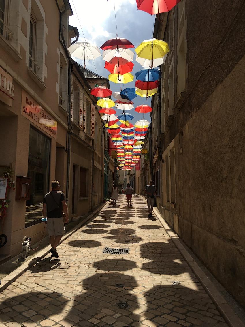 Parapluies_Sancerre_Maurice GIROUDON