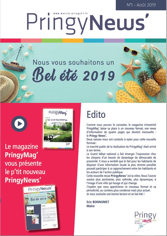 Pringy New's août 2019