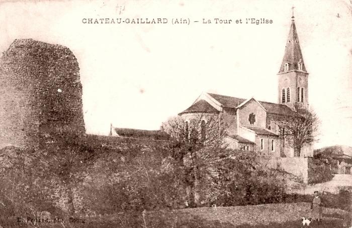 La tour et l eglise