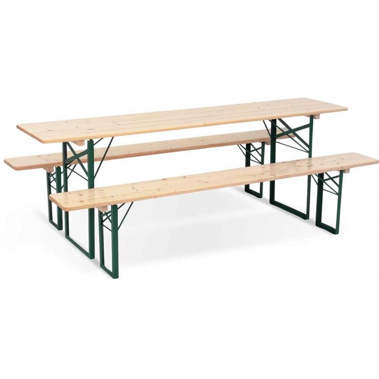affiche tables bancs