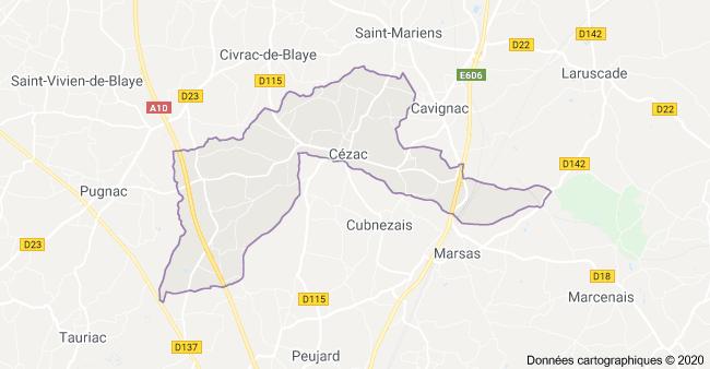 cartographie cezac