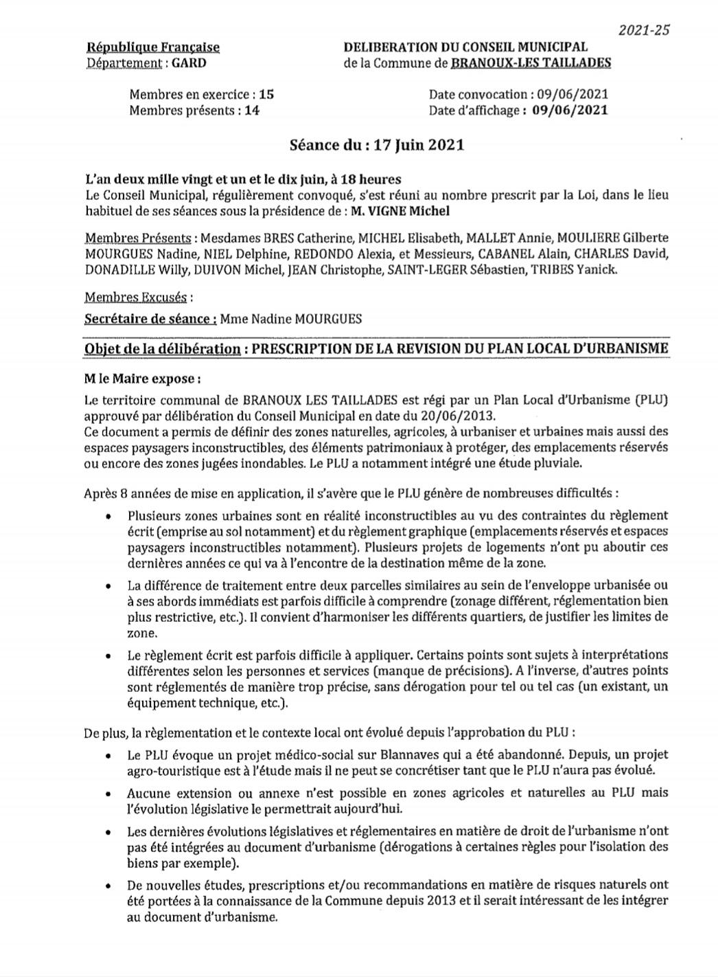 Délib révision PLU p1
