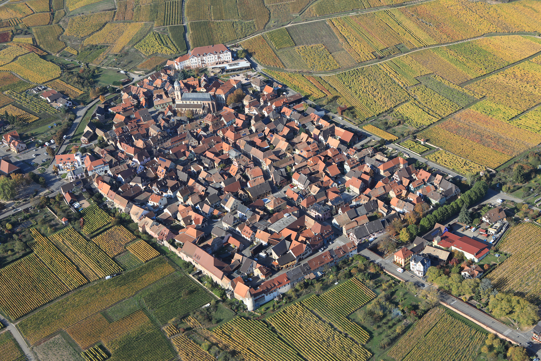 village vu du ciel