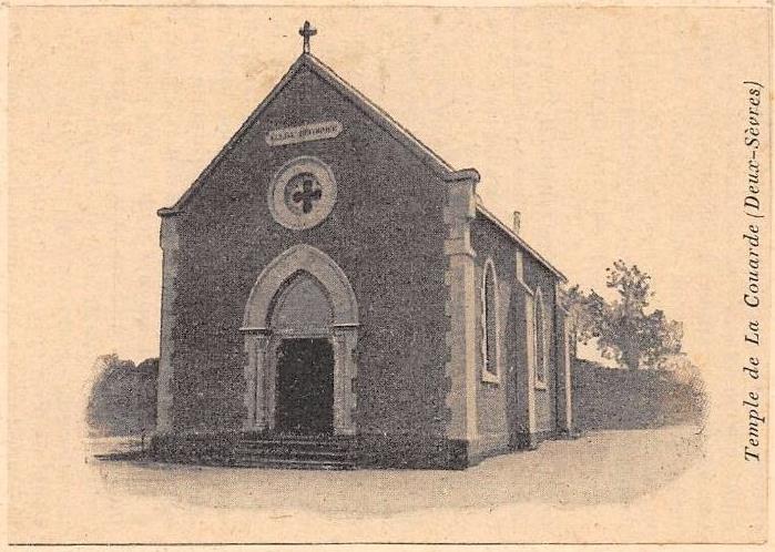 Temple de La Couarde carte 1900.jpg