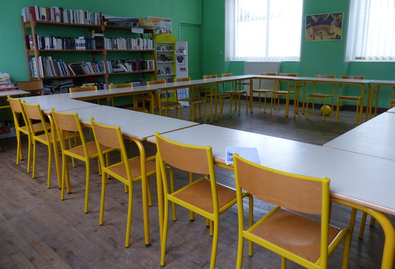 Classe d'école à La Couarde