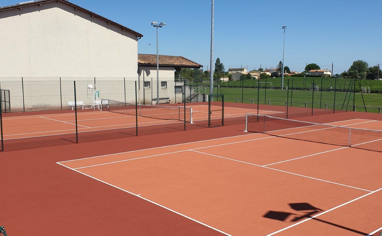 Courts de tennis 2