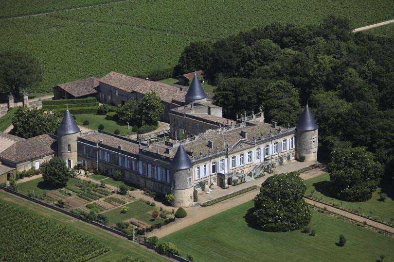 Chateau St-Georges (Vue aérienne)