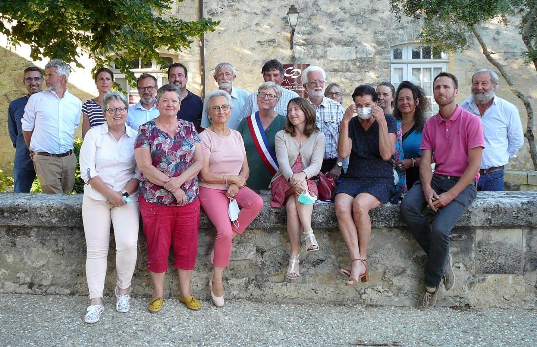 Le conseil municipal au complet le jour de l'élection du Maire.