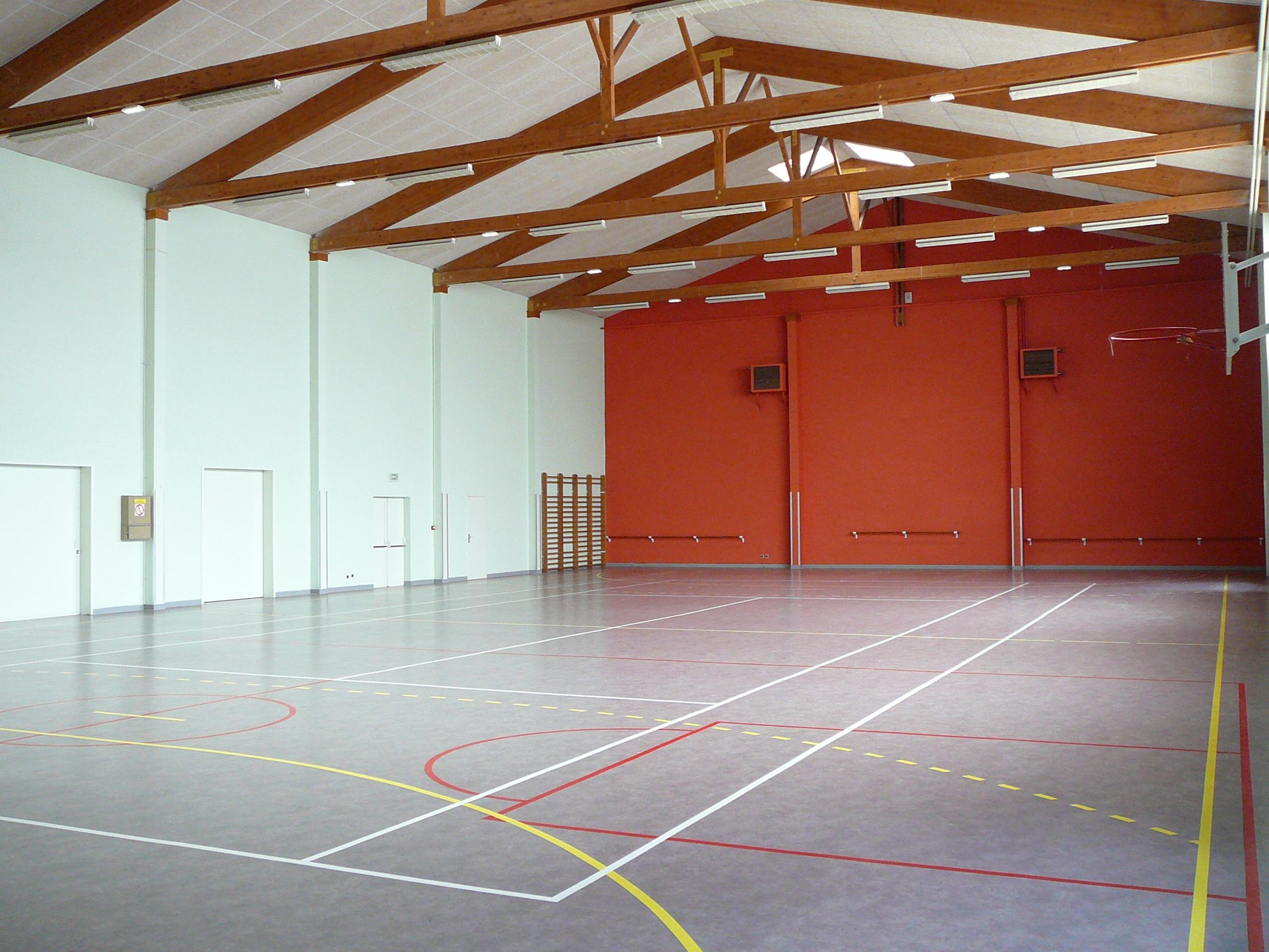Salle polyvalente Ausone (Intérieur)