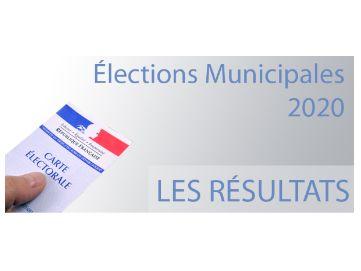 Résultats des elections municipales