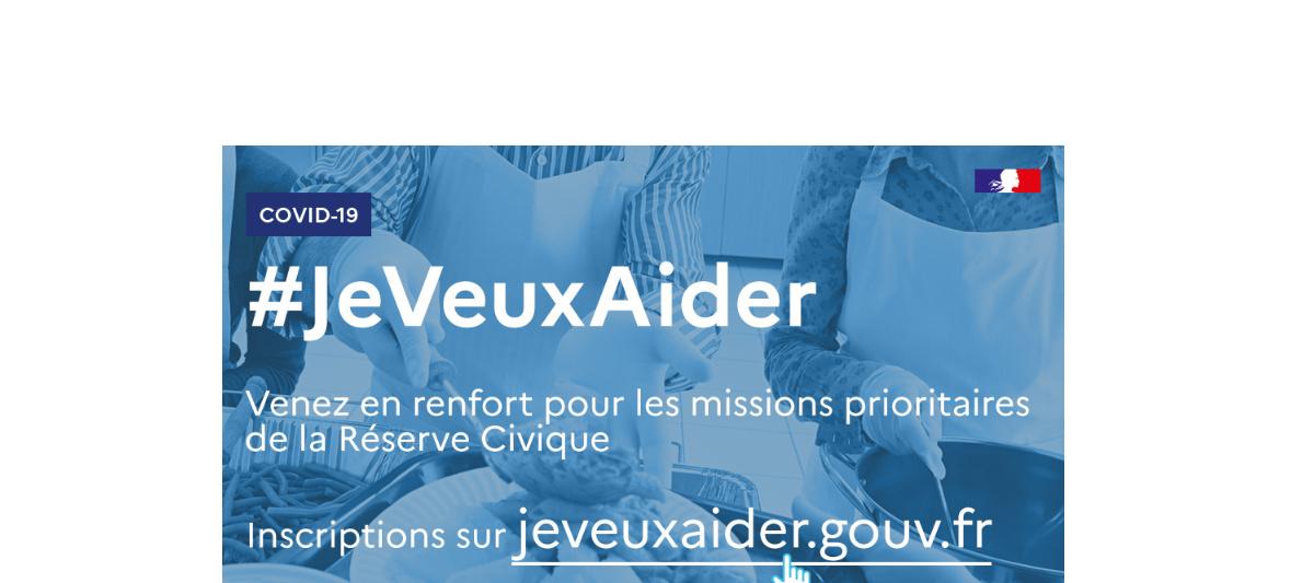COVID-19 : Réserve Civique