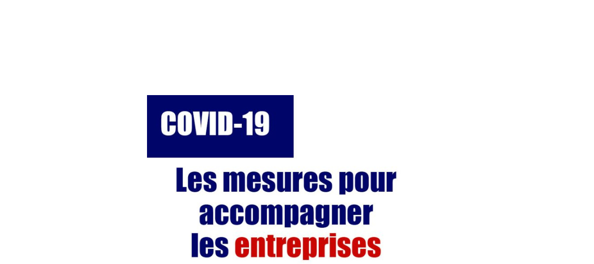 02/04/2020 - COVID-19 : Mesures de soutien économique
