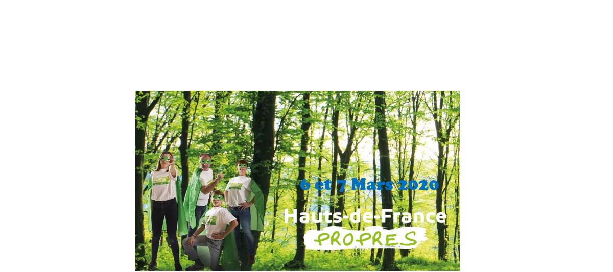 Opération Hauts de France propres