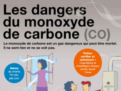 Prévention : le monoxyde de carbone tue !