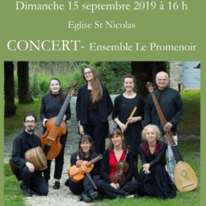 Concert : Ensemble Le Promenoir