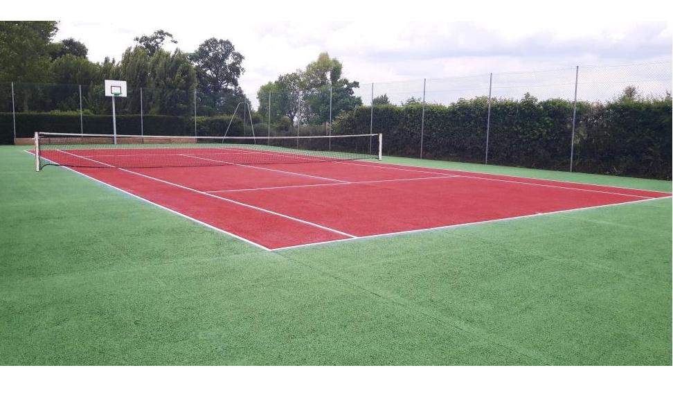 Réhabilitation du terrain de tennis