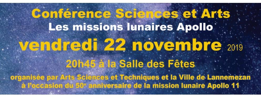 Conférence Sciences et Arts dans la cadre de la Fête de la Science