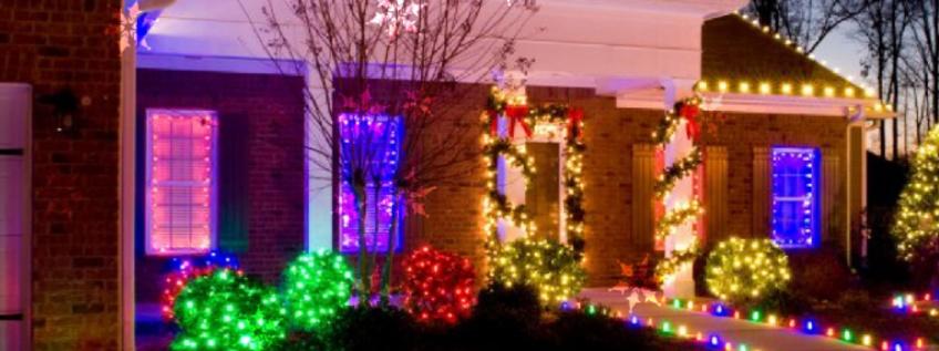 Concours des maisons illuminées