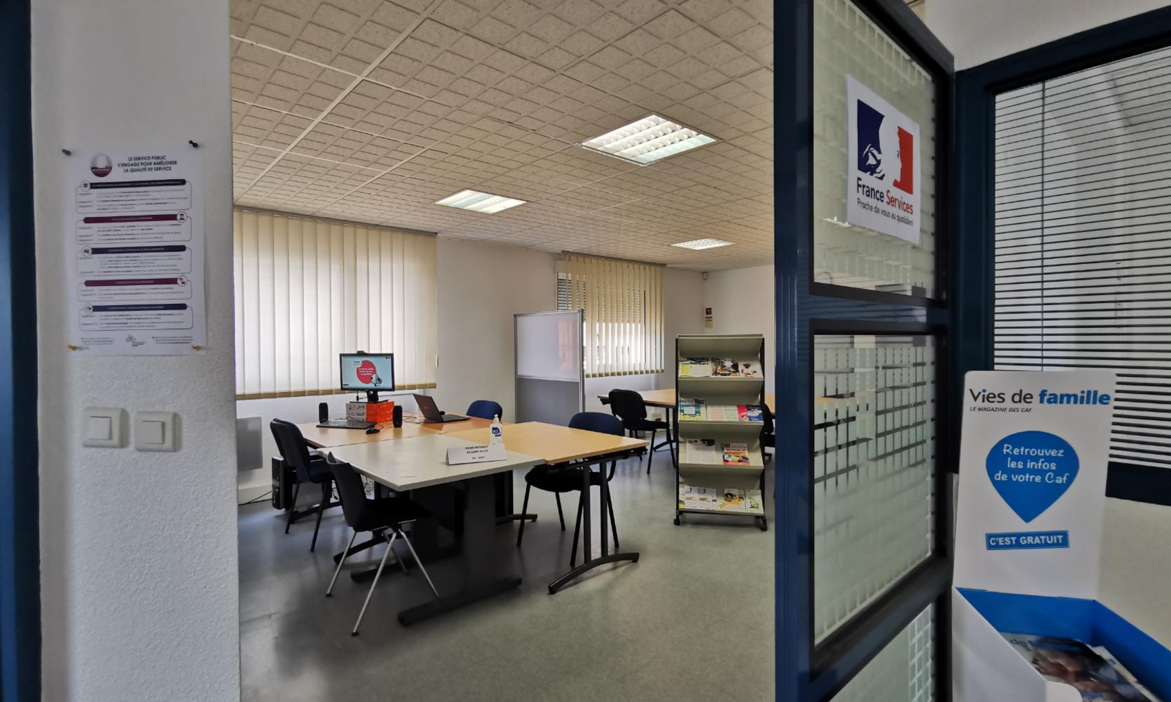 Ouverture de l'Espace France Services de Quingey