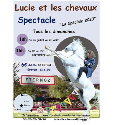 Lucie et les chevaux 2020
