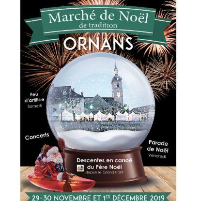 Marché de Noël à Ornans