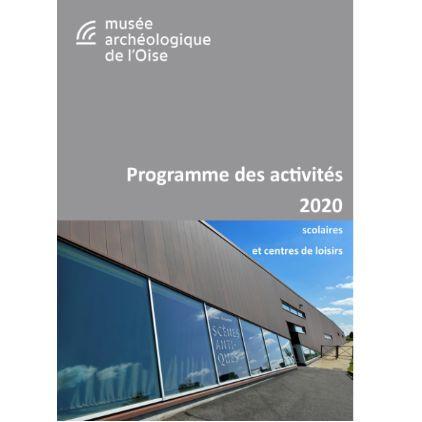 Programme des activités 2020 |Couverture