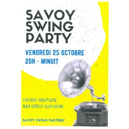 Savoy Swing Party