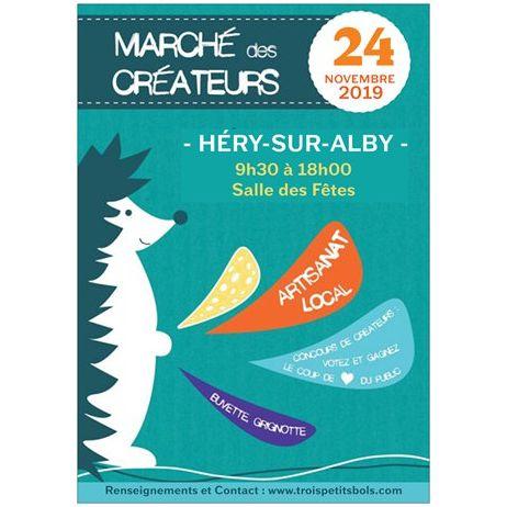 Héry-sur-Alby   Marché des Créateurs